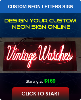 Custom Text Neon Sign Tool